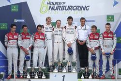 Podium: 1. Timo Bernhard, Mark Webber, Brendon Hartley, Porsche Team; 2. Lucas di Grassi, Loic Duval, Oliver Jarvis, Audi Sport Team Joest; 3. Marcel Fässler, Andre Lotterer, Audi Sport Team Joest