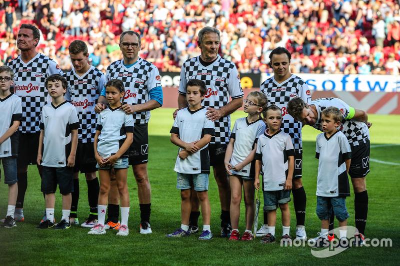 Team Nazionale piloti, Felipe Massa, Williams y Sebastian Vettel, Ferrari