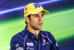 Pressekonferenz: Felipe Nasr, Sauber F1 Team