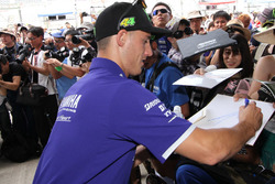 #21 Yamaha Factory Racing Team: Pol Espargaro signs autographs for the fans