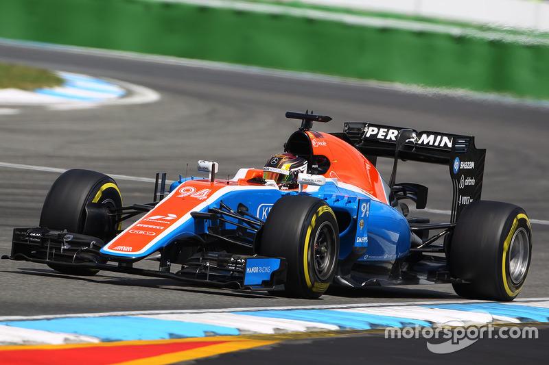 17. Pascal Wehrlein, Manor Racing MRT05