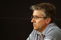 Pat Fry, Consulente dell'ingegneria Manor Racing nella conferenza stampa FIA