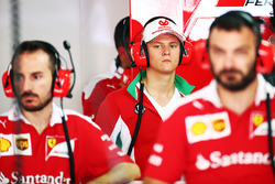 Mick Schumacher, Prema Powerteam nel box Ferrari