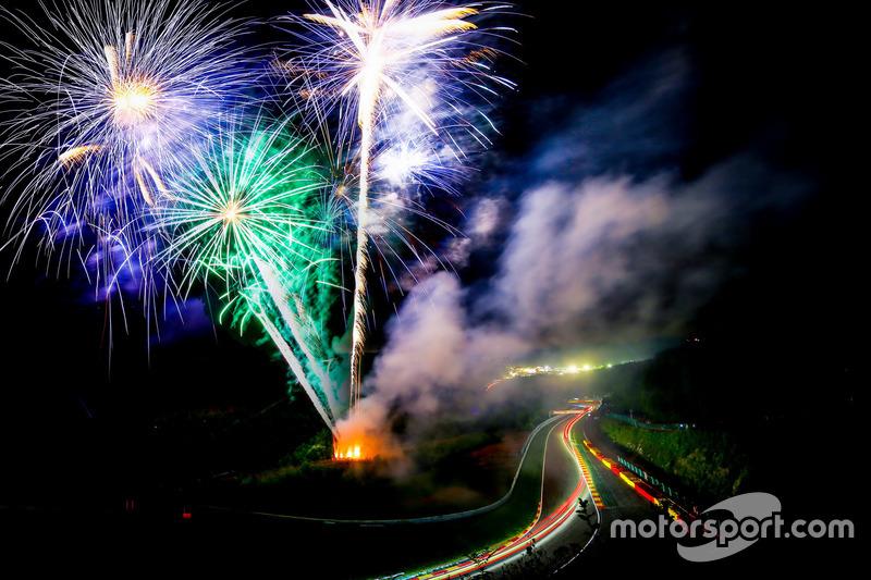 Vuurwerk leverde mooie beelden op
