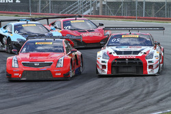#3 Cadillac Racing, Cadillac ATS-VR GT3: Johnny O'Connell; #05 Always Evolving Racing, Nissan GT-R-GT 3: Bryan Heitkotter
