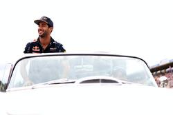 Fahrerparade: Daniel Ricciardo, Red Bull Racing