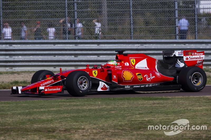 Ferrari-Test mit 2017er-Reifen