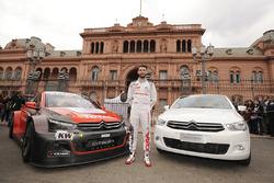 José María López, Citroën World Touring Car Team, Citroën C-Elysée WTCC during Citroën demonstration in Buenos Aires