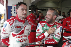 Norbert Michelisz, Honda Racing Team JAS, Honda Civic WTCC, Tiago Monteiro, Honda Racing Team JAS, Honda Civic WTCC después de la calificación  MAC3