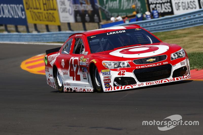 29. Kyle Larson, Chip Ganassi Racing, Chevrolet