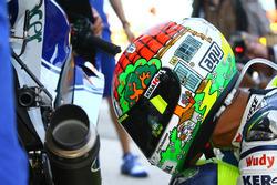 Spezielles Helmdesign von Valentino Rossi, Yamaha