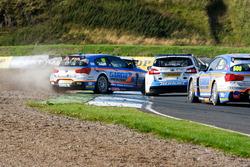 Crash, Colin Turkington, Subaru Team BMR and Rob Collard,Team JCT600 with GardX