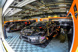 FFF Racing Lamborghini Huracan GT3 garage atmosphere