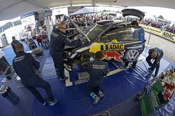 Car of Andreas Mikkelsen, Anders Jäger, Volkswagen Polo WRC, Volkswagen Motorsport