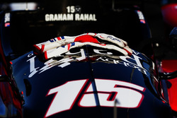 La voiture de Graham Rahal, Rahal Letterman Lanigan Racing Honda