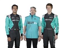 Nelson Piquet Jr., Martin Leach and Oliver Turvey, NeXTEV TCR Formula E Team