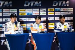 Conferenza stampa: Paul Di Resta, Mercedes-AMG Team HWA, Mercedes-AMG C63 DTM; Robert Wickens, Mercedes-AMG Team HWA, Mercedes-AMG C63 DTM; Gary Paffett, Mercedes-AMG Team ART, Mercedes-AMG C63 DTM