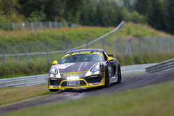 Hamza Owega, Moritz Kranz, Daniel Mursch, Porsche Cayman GT4 Clubsport