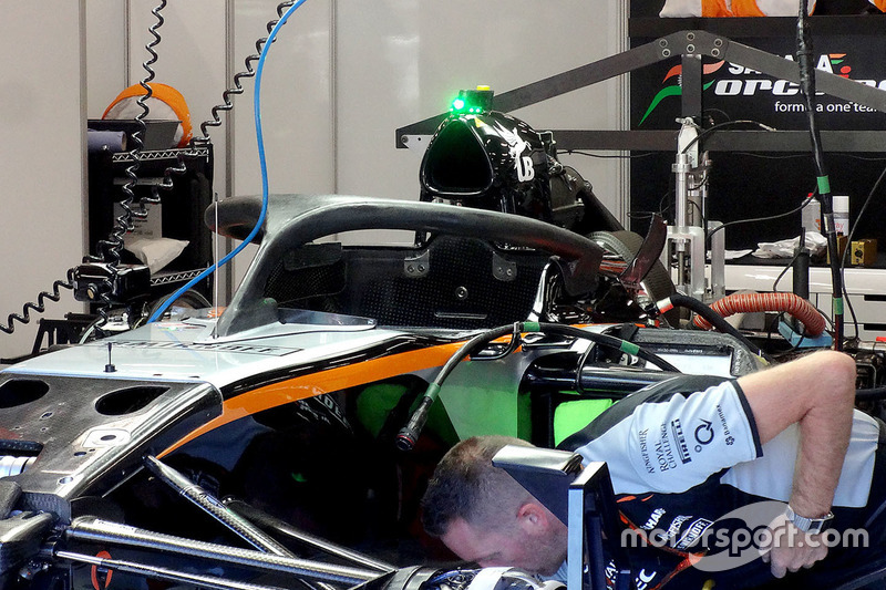 Halo kokpit, Nico Hulkenberg, Sahara Force India F1 VJM09