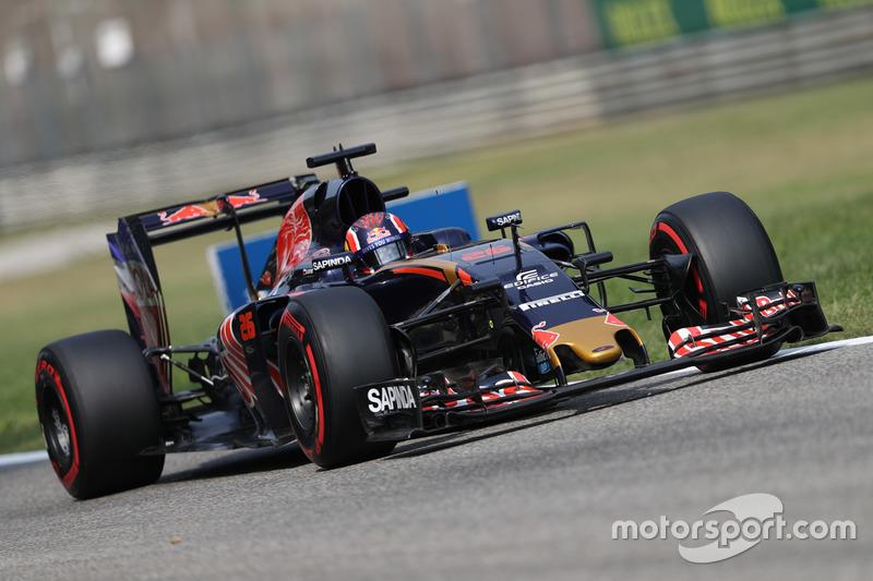 Ausgefallen: Daniil Kvyat, Scuderia Toro Rosso STR11
