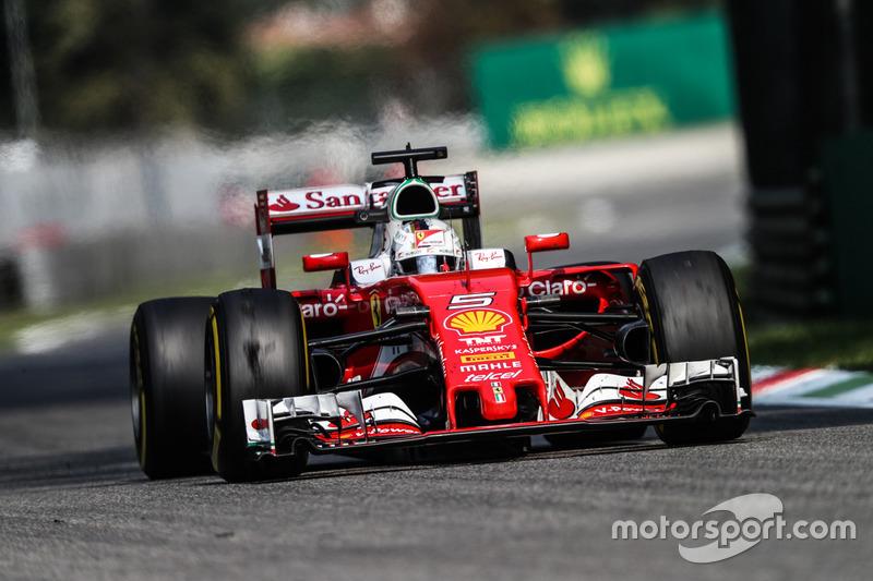3: Sebastian Vettel, Ferrari SF16-H