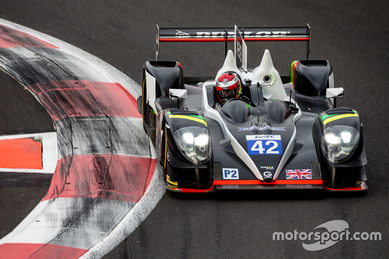 4. MP2: #42 Strakka Racing, Gibson 015S - Nissan: Nick Leventis, Jonny Kane, Lewis Williamson
