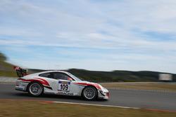 John Shoffner, Janine Hill, Arno Klasen, Duncan Huisman, Porsche 991 GT3 Cup