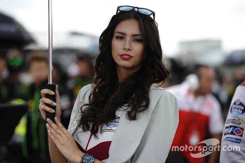 Lovely Marc VDS Racing girl