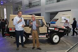 Patrick Simon, Rainer Braun ''50 yıllık heyecan - Volkwagen Motorsport'' açılış töreninde