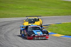 #53 MP3A Mazda RX-7 GTU: Angel Clemente and Carlos Ramirez of Aco Jones Racing Team, #24 MP1B Chevrolet Corvette C5: Juan Vento and Frank Eiroa Jr of JV Racing