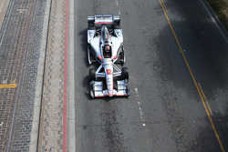 Will Power, Team Penske Chevrolet during a parade at the Embarcadero