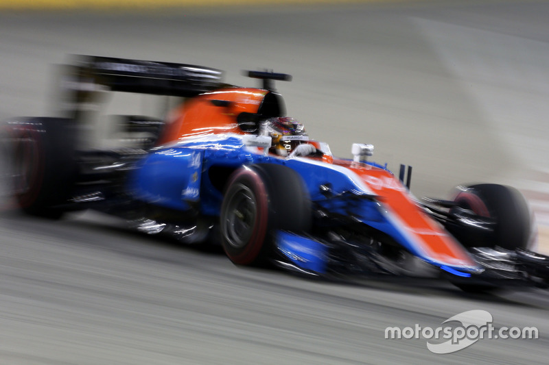 19: Pascal Wehrlein, Manor Racing