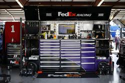 Box von Denny Hamlin, Joe Gibbs Racing, Toyota