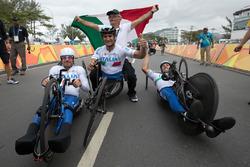Alex Zanardi mit dem italienischem Team