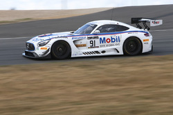 #91 Team Zakspeed Mercedes Benz AMG GT3: Sebasten Asch, Luca Ludwig, Nikolaj Rovigue