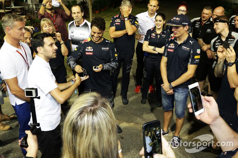 Dynamo (Steven Frayne), Mago con Max Verstappen, Red Bull Racing