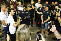 Dynamo (Steven Frayne), Magician with Max Verstappen, Red Bull Racing