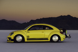 The VW Beetle LSR at Bonneville