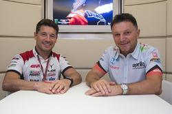 Lucio Cecchinello, Team LCR Honda Takım Patronu, Fausto Gresini, Aprilia Gresini Racing Team Takım Patronu