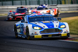 #99 Aston Martin Racing, Aston Martin Vantage V8: Andrew Howard, Darren Turner, Alex MacDowall