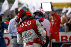 Edoardo Mortara Audi Sport Team Abt Sportsline, Audi RS 5 DTM y Miguel Molina Audi Sport Team Abt Sportsline, Audi RS 5 DTM