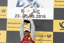 Podium: Sieger Edoardo Mortara Audi Sport Team Abt Sportsline, Audi RS 5 DTM