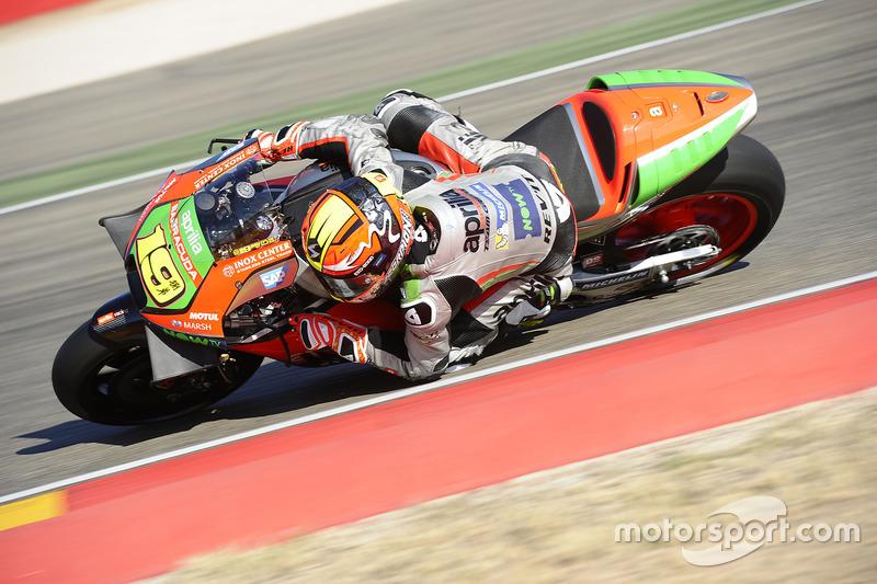 Альваро Баутіста, Aprilia Gresini Racing Team