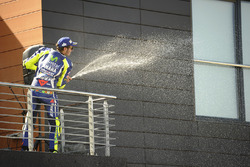 Podium: third place Valentino Rossi, Yamaha Factory Racing