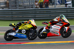 Lorenzo Baldassarri, Forward Racing; Alex Rins, Paginas Amarillas HP 40