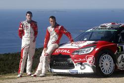 Kris Meeke and Craig Breen, Citroën DS3 WRC, Abu Dhabi Total World Rally Team