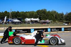 #8 Starworks Motorsports, ORECA FLM09: Renger van der Zande, Alex Popow, David Heinemeier Hansson