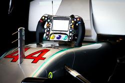 Stuur van Lewis Hamilton, Mercedes AMG F1 W07 Hybrid