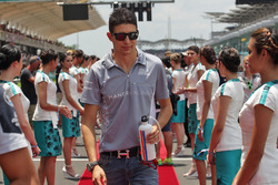 Esteban Ocon, Manor Racing on the drivers parade