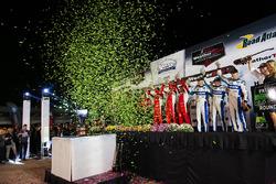 Podyum: Prototip 1., #60 Michael Shank Racing with Curb/Agajanian Ligier JS P2 Honda: John Pew, Oswaldo Negri Jr., Olivier Pla, Prototype Challenge 1. #52 PR1 Mathiasen Motorsports ORECA FLM09: Robert Alon, Tom Kimber-Smith, Jose Gutierrez, GT Le Mans 1. #62 Risi Competizione Ferrari 488 GTE: Toni Vilander, Giancarlo Fisichella, James Calado, GT Daytona 1. #33 Riley Motorsports SRT Viper GT3-R: Ben Keating, Jeroen Bleekemolen, Marc Miller
